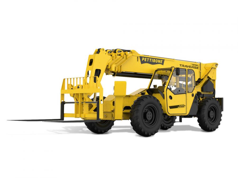 By providing up to 70 in. (117.8 cm) of horizontal boom transfer, the Traverse T1258X telehandler allows operators to safely place loads at full lift height without needing to coordinate multiple boom functions.