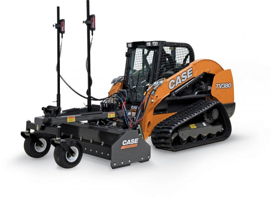 With a reversible cutting edge on all sides, the grading box's push-pull design grades moving forward or in reverse to utilize the maneuverability of a skid steer/CTL and increase productivity. The hydraulic valve system adjusts the grading box, providing operators with smooth and accurate performance even in tough environments.