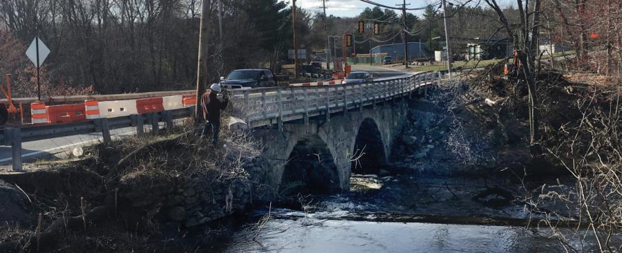 The Slatersville Stone Arch Bridge reopened several months ahead of its originally projected schedule, and overall the project is on track to finish in the 2019 construction season.