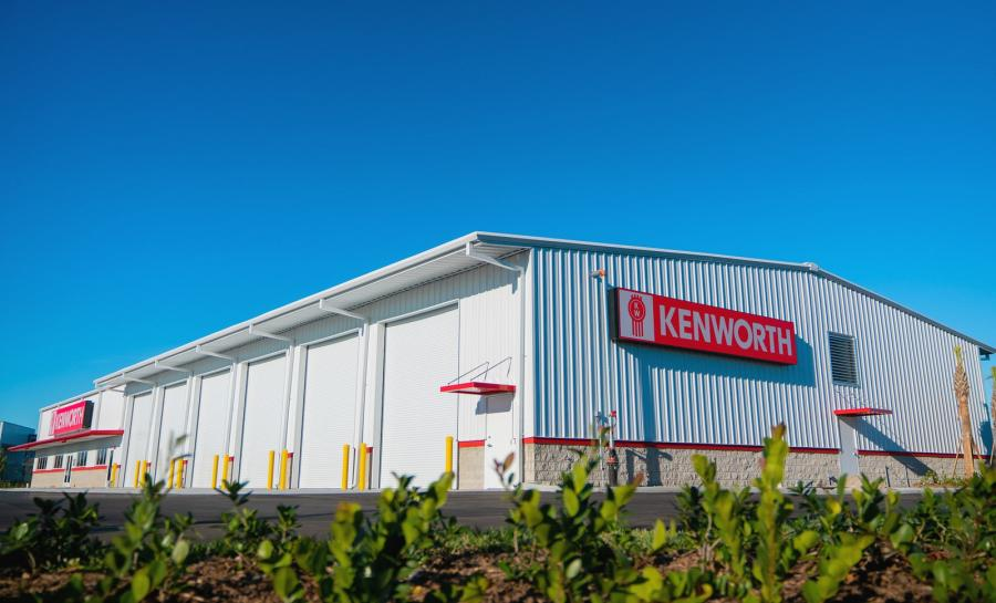 The $2.7 million facility features 12 service bays, 2-hour truck diagnosis through Kenworth PremierCare ExpressLane, 700 sq.-ft. visual parts department supported by a large, fully stocked parts warehouse with ample inventory, a comfortable driver's lounge and 24-hour towing service availability.