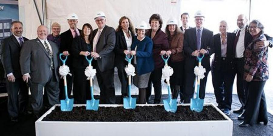 APTA Board of Directors at the groundbreaking ceremony for APTA's new headquarters.