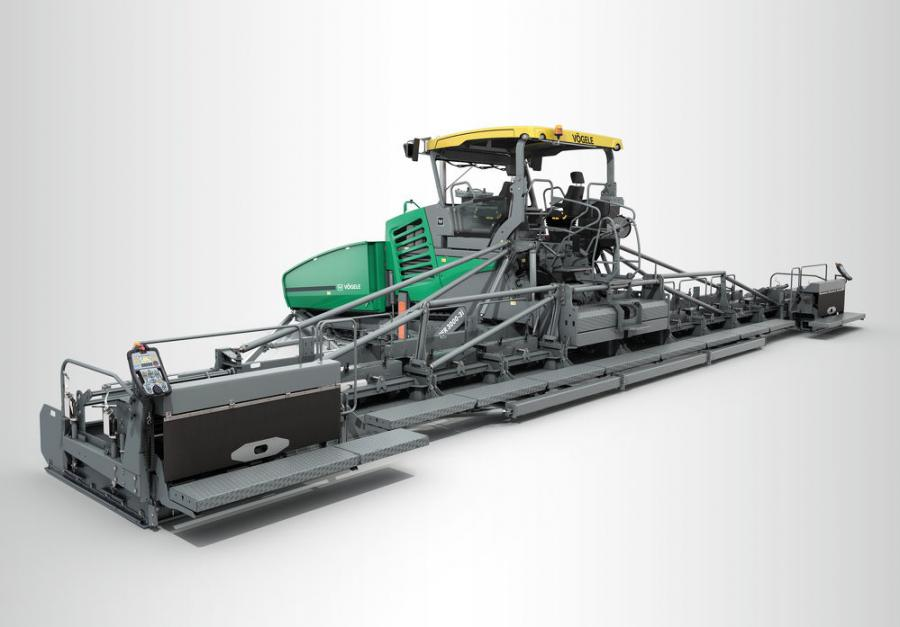 The Super 3000-3(i) is the new flagship in Vögele's paver line-up and a representative of the newly introduced premium line.