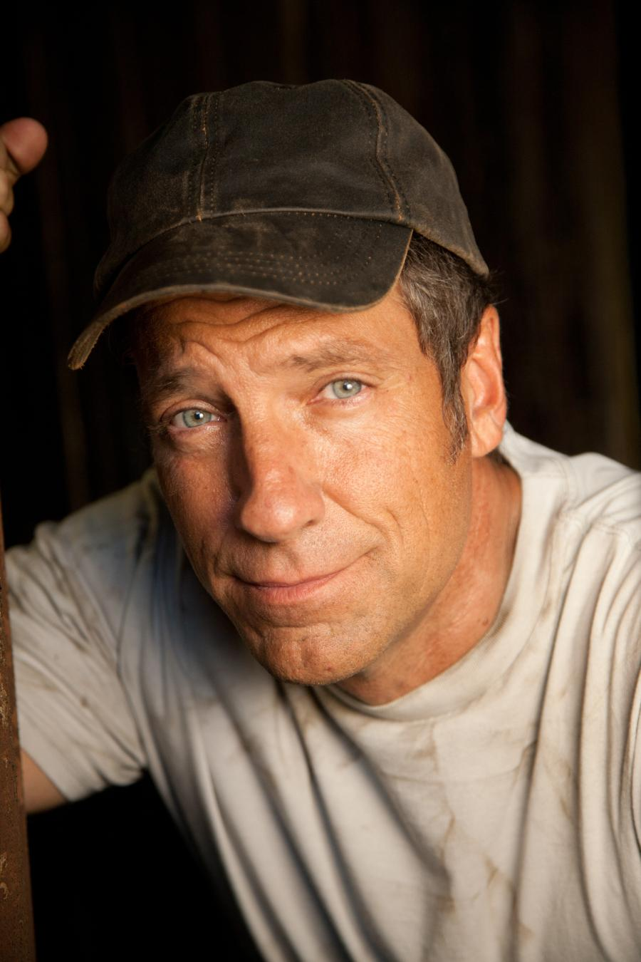 Mike Rowe, best known as the host of Dirty Jobs.