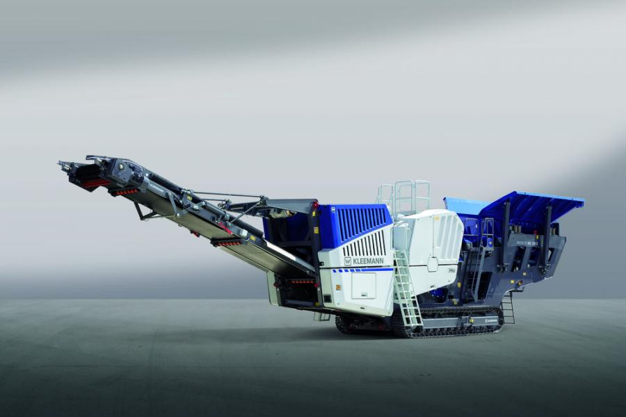 The mobile jaw crusher MOBICAT 