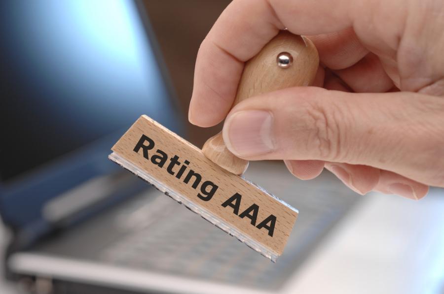 Utah maintains its AAA credit rating.