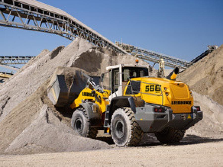 The L 566 XPower wheel loader.
