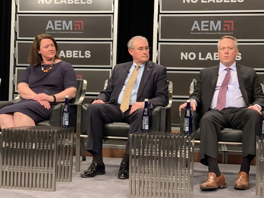 In addition to Stowers, panelists included representatives from Volvo Construction Equipment, the U.S. Chamber of Commerce and the American Road & Transportation Builders Association.
