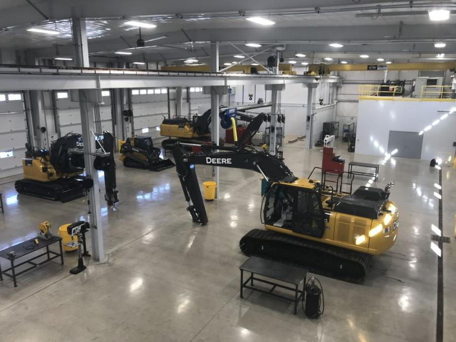 The new Orchard Park facility covers a 24,000 sq. ft., including a 12,700 sq. ft. service area, with eight service bays and two 10-ton cranes, a clean room, a cylinder repair area and a dedicated equipment wash bay.