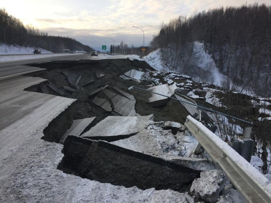 Despite the challenges, not the least of which included at least two sinkholes on a major highway due ongoing aftershocks, contractors finished all the major breaks but one within 72 hours. The last took an extra 12 hours.