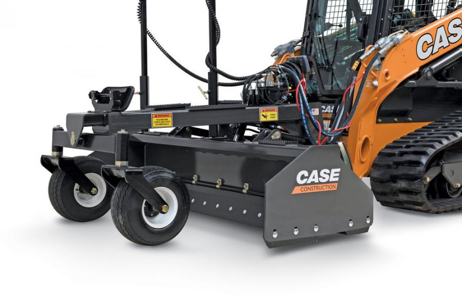 With a reversible cutting edge on all sides, the grading box's unique push-pull design grades moving forward or in reverse to utilize the maneuverability of a skid steer/CTL and increase productivity.