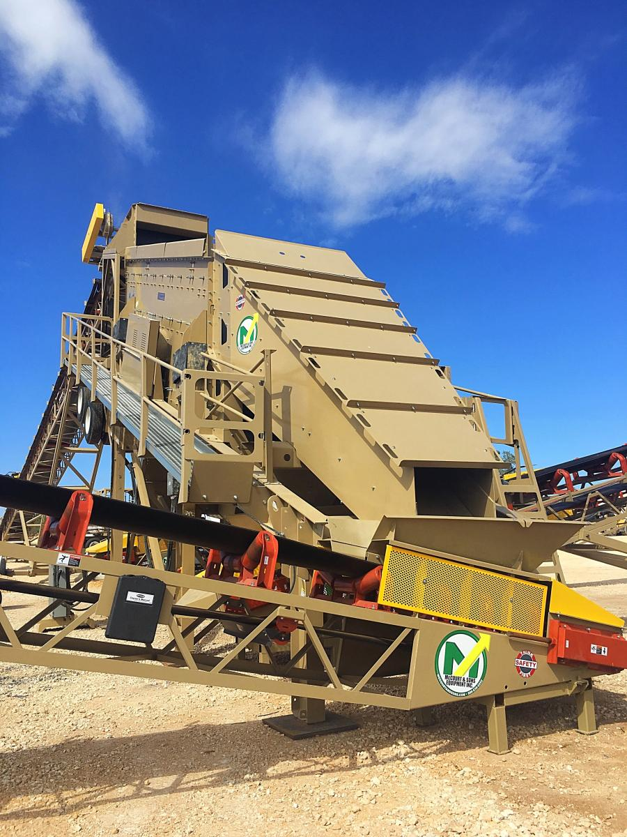 The low operating cost and high performance of theTriple Deck 820Vibro-King TL Portable Screen Plantmakes itparamountfor screening applications in mining,heavy-dutyaggregate processing and sizing, recycling asphalt and concrete products.
