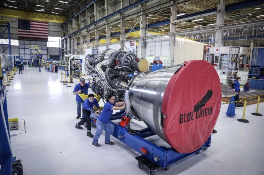 Blue Origin's B-4 rocket engine will be manufactured in Huntsville.
