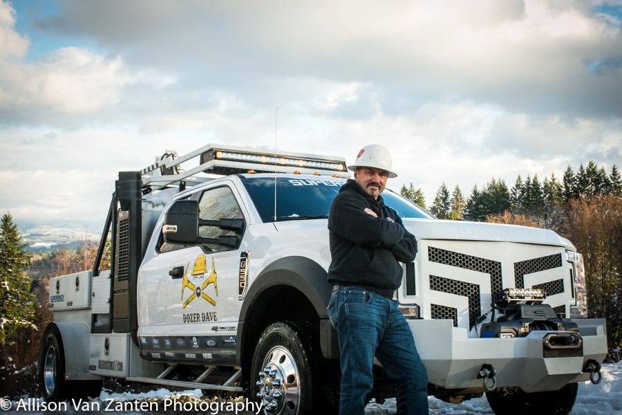 """Dave Turin, aka Dozer Dave of the Discovery Channel's """"Gold Rush,"""" spoke to the World of Asphalt  gathering in Indianapolis about opportunities for young people in the construction industry. (Allison Van Zanten Photo)"""