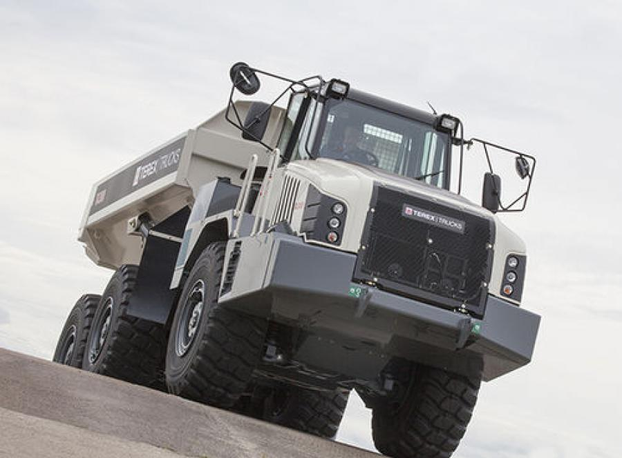 With 11 locations in the Carolinas, Hills Machinery will be selling, renting and servicing two Terex Trucks articulated hauler models — the TA300 and TA400.