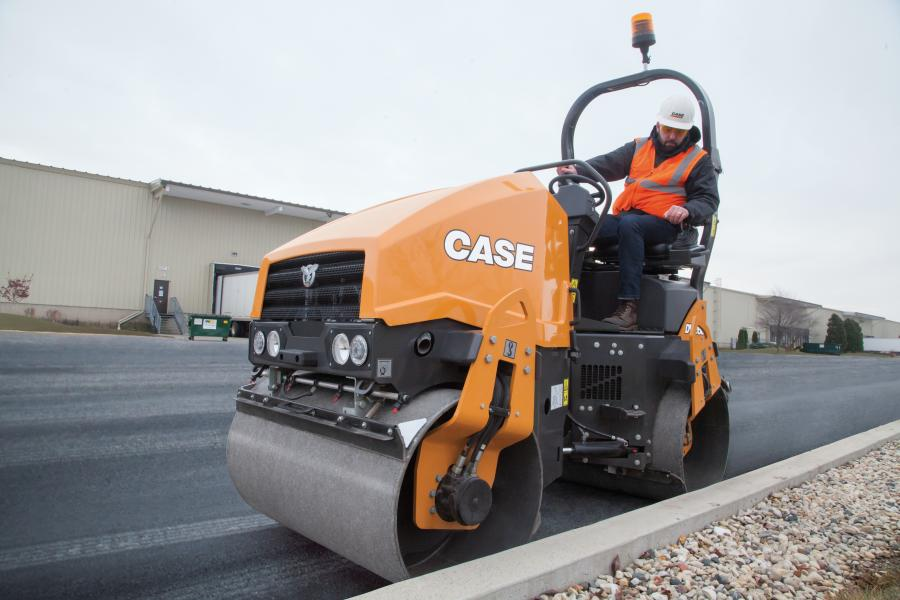 Case Launches DV23D, DV23CD Small-Frame Vibratory Rollers