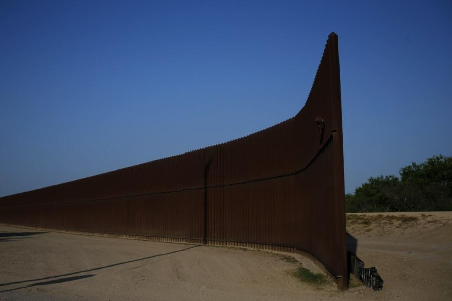 Congress last March approved more than $600 million for 33 mi. of new barriers in the Rio Grande Valley.