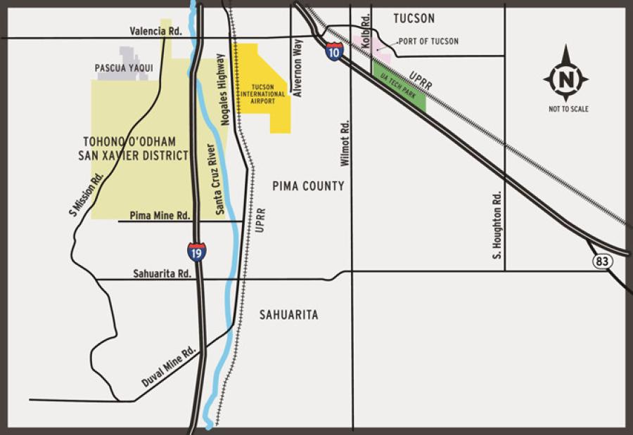 Sonoran Corridor Vicinity Map