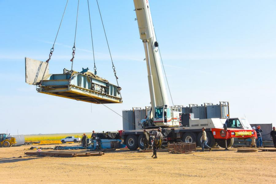 Cheyenne, Wyo.-based BAR-S Services (BAR-S) took ownership of a new 275-ton (250-t) ATC-3275 all-terrain crane from Link-Belt distributor Strong's Crane Service.