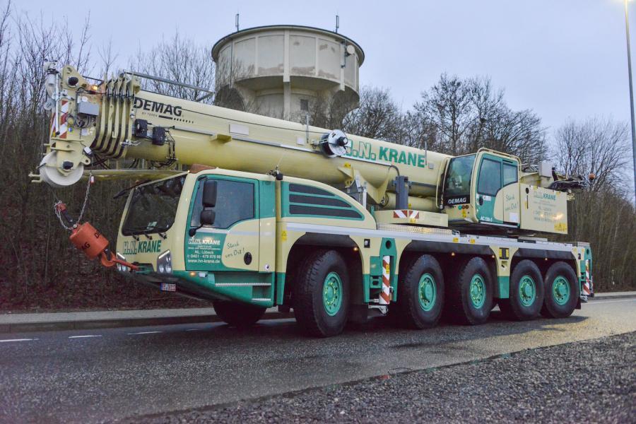 H N  Krane Receives New Demag Ac 130