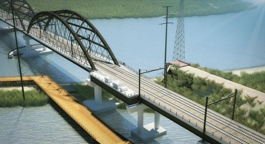 The project will replace the bridge with a modern, higher clearance, fixed span bridge, allowing faster speeds, increased reliability and a 10 percent increase in NJ Transit capacity.