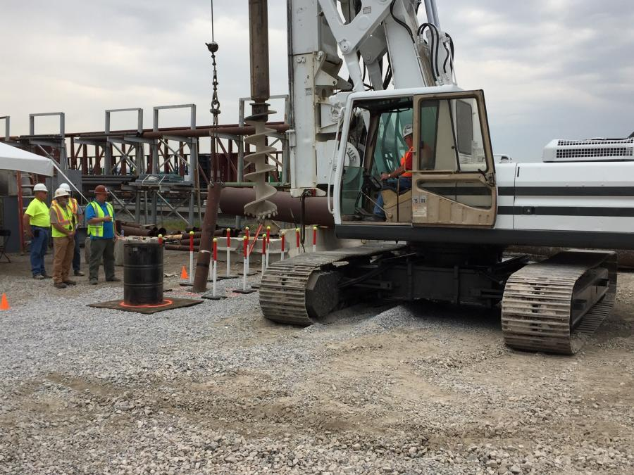 Dale Putman participated in the first NCCCO drill rig practical examiners workshop in Salt Lake City, Utah. As an NCCCO practical examiner candidate, he acted as proctor, examiner and certified operator candidate. Individuals are graded on each aspect of becoming a practical examiner by NCCCO staff.