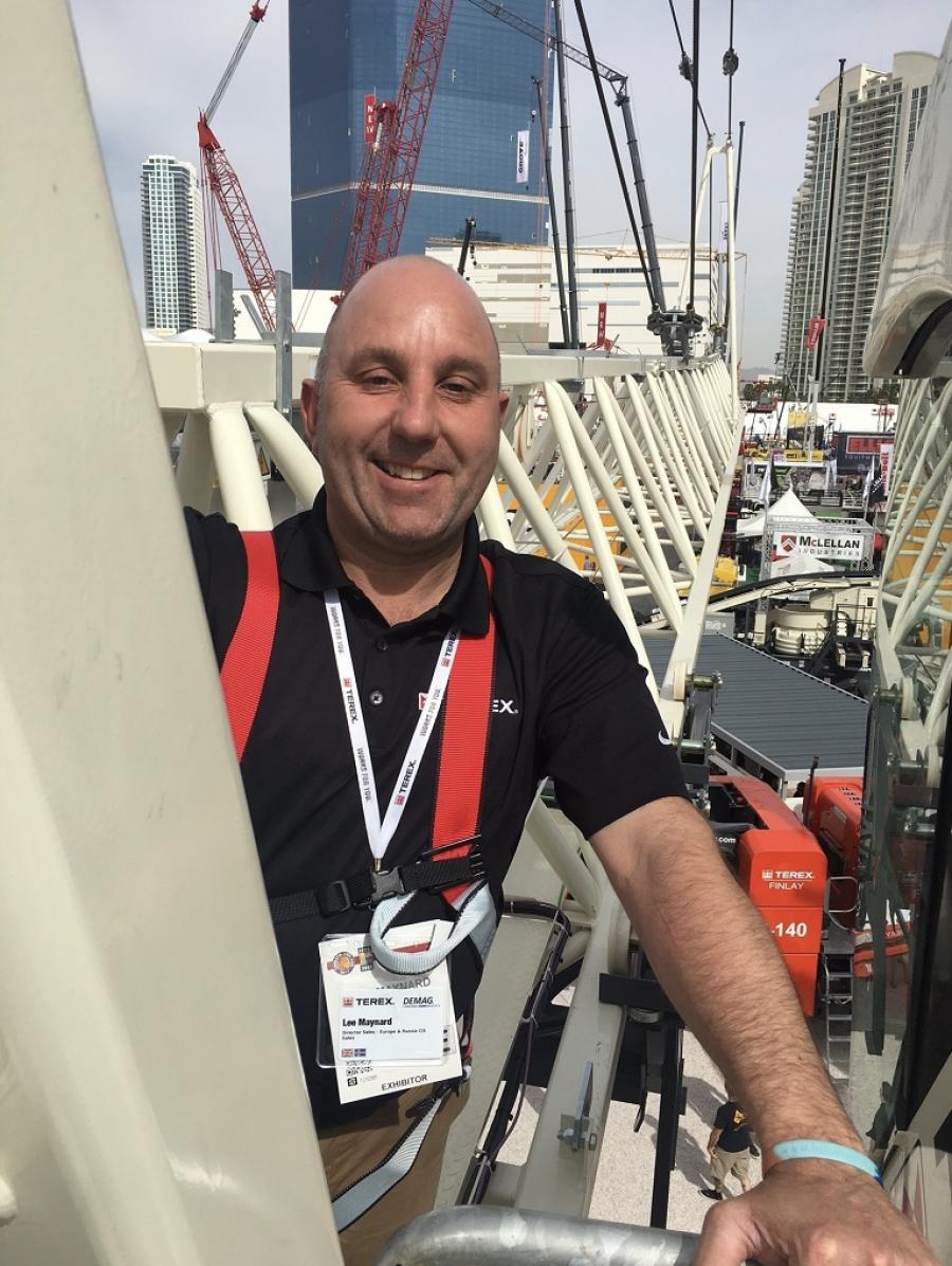 Maynard will be able to draw on his extensive professional experience and crane industry knowledge.