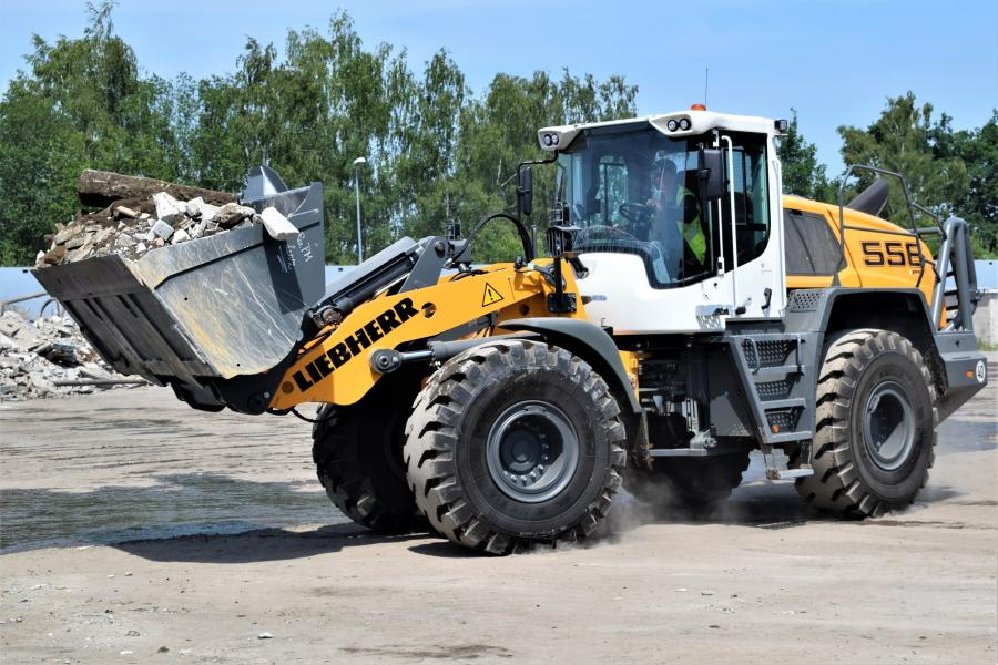 L556 XPower Wheel loader
