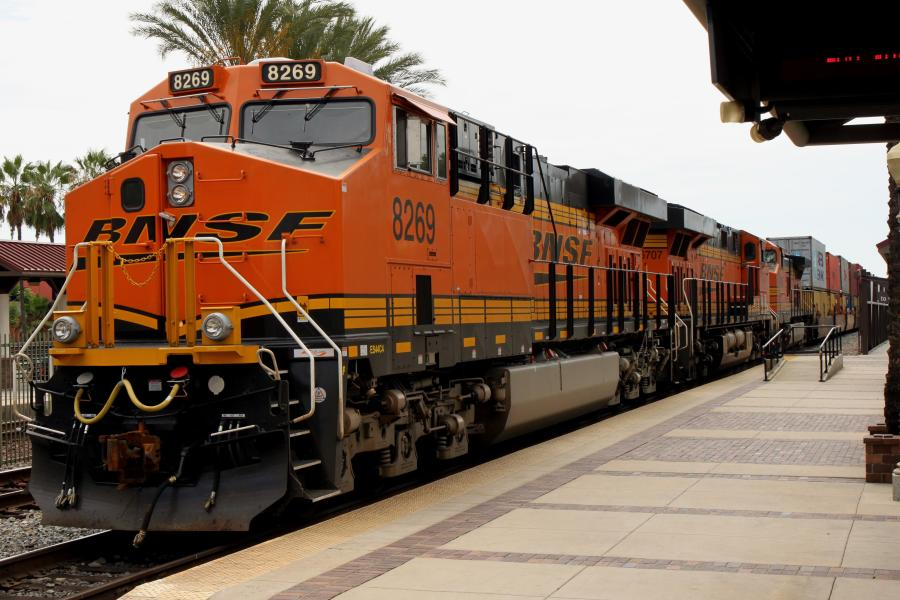 Maintaining rail network infrastructure reduces the need for unscheduled service work that can slow down the BNSF rail network and reduce capacity.
