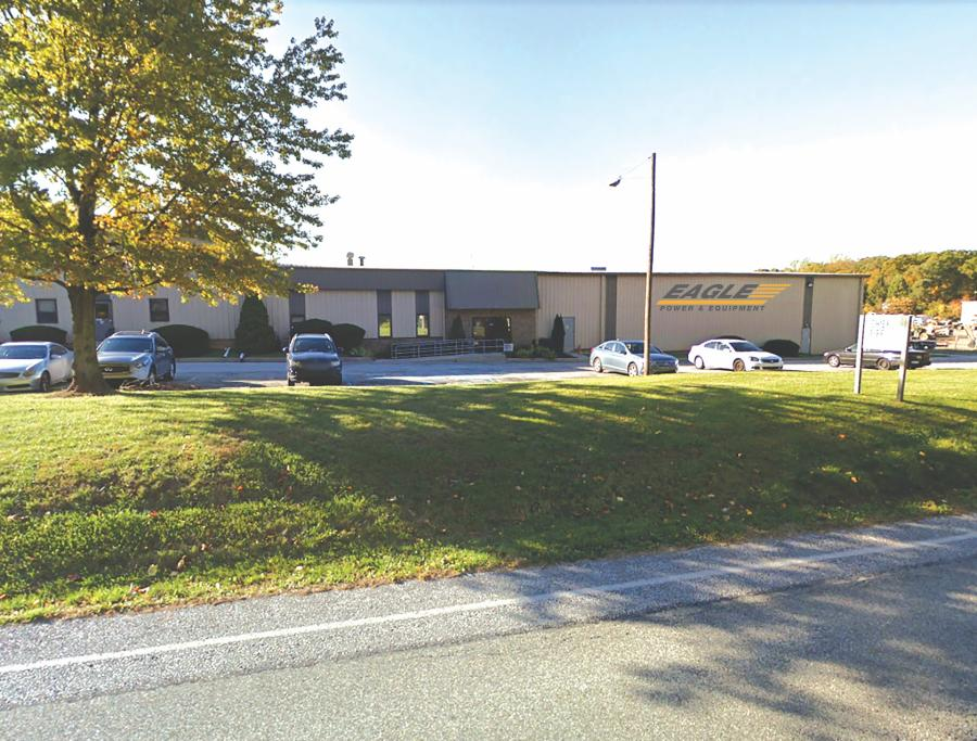 Eagle Power & Equipment's new West Chester, Pa., facility will occupy 12 acres at the former Ransome Cat site.