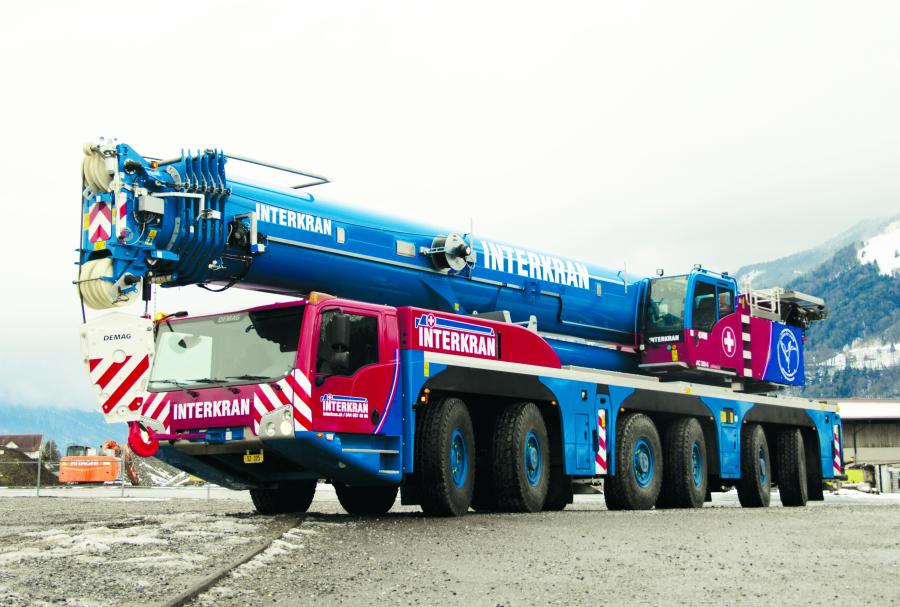 Swiss crane service provider Interkran has received its second Demag AC 300-6 all terrain crane.