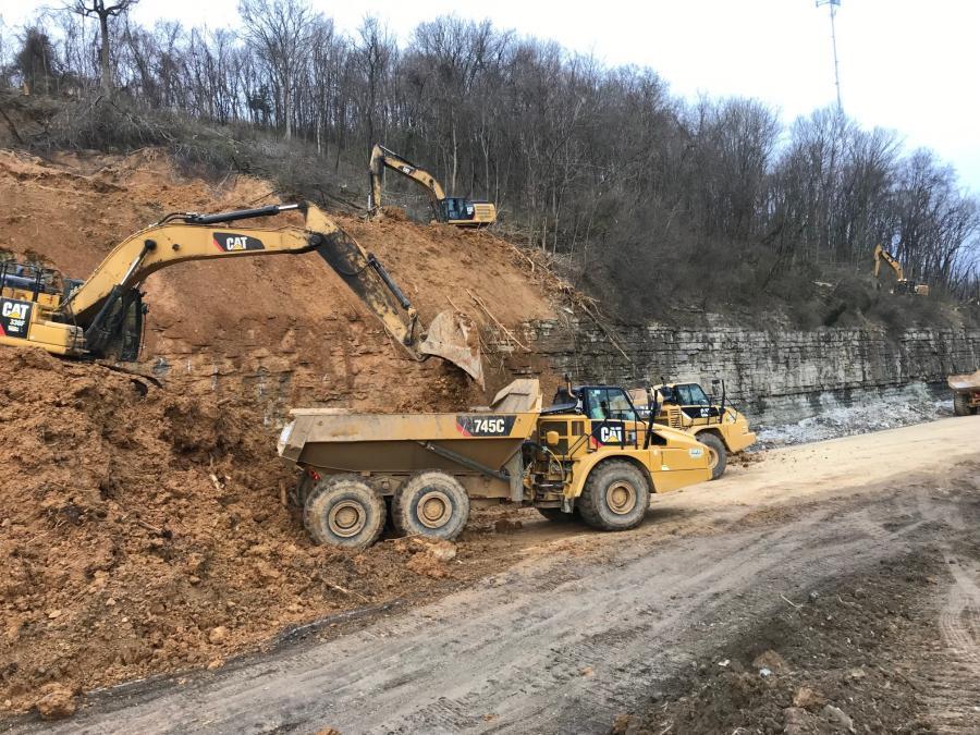 TDOT Stabilizes I-24 Hillside After Landslide | Construction