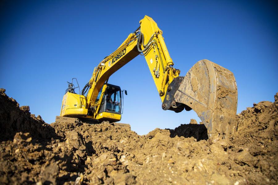 Moss Utilities operates Kobelco excavators from Bane Machinery.