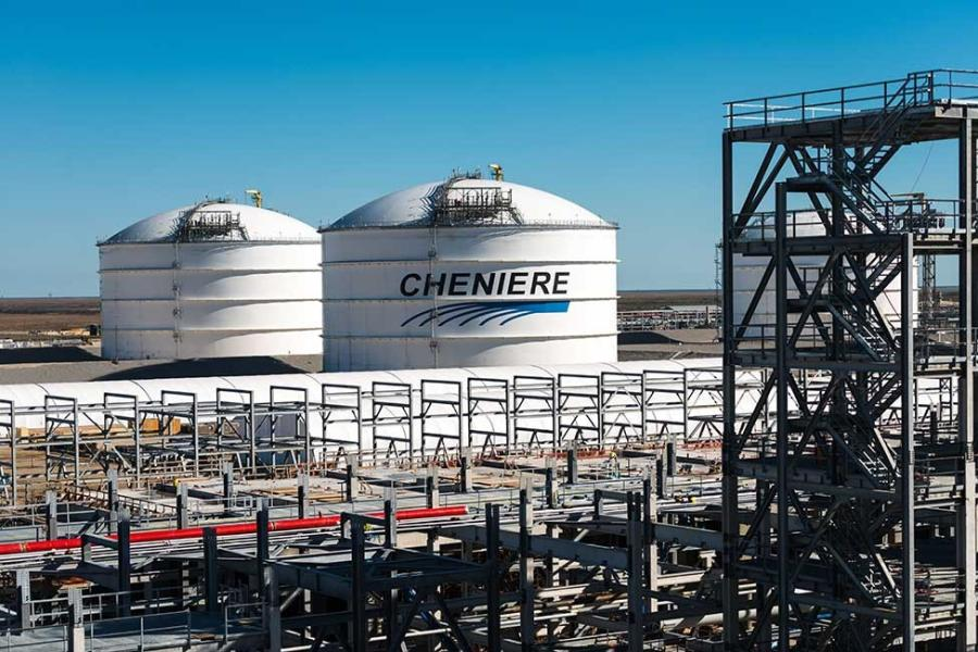 """Train 1 at Corpus Christi has achieved substantial completion, becoming the first liquefaction train placed into operation at a greenfield liquefaction facility in the lower 48 states,"" said Jack Fusco, president and CEO of Cheniere.
