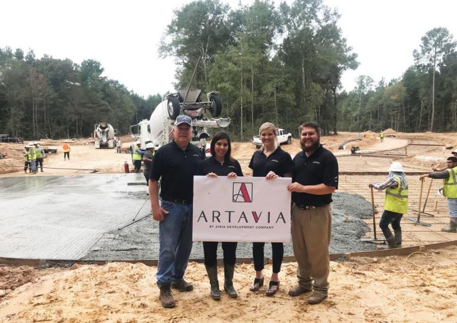 AIRIA Development Company announced on Feb. 26 the development of ARTAVIA, a 2,200-acre master-planned community in the Montgomery County/Conroe area. (AIRIA Development Company photo)