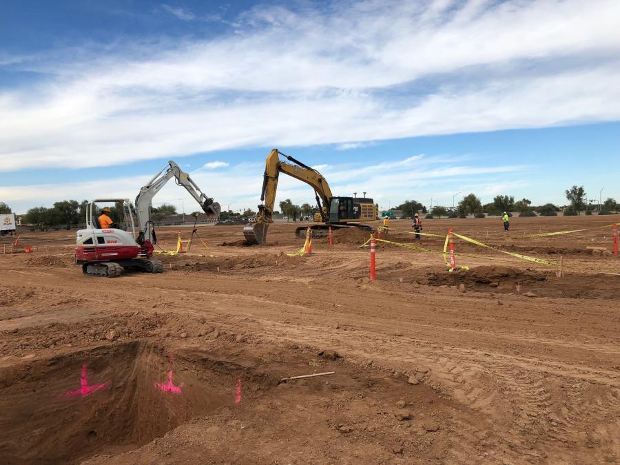Construction on Banner's Ocotillo Medical Center began in November 2018. (Okland Construction photo)