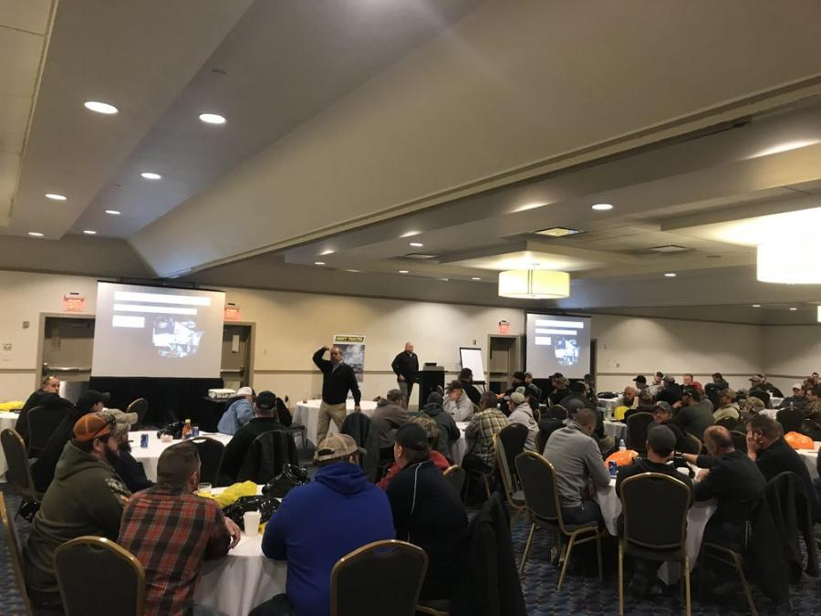 Groff Tractor & Equipment hosted two milling seminars in Pennsylvania. Each seminar covered basic milling techniques through technological advancements and was a great educational opportunity for crews about to hit the asphalt.