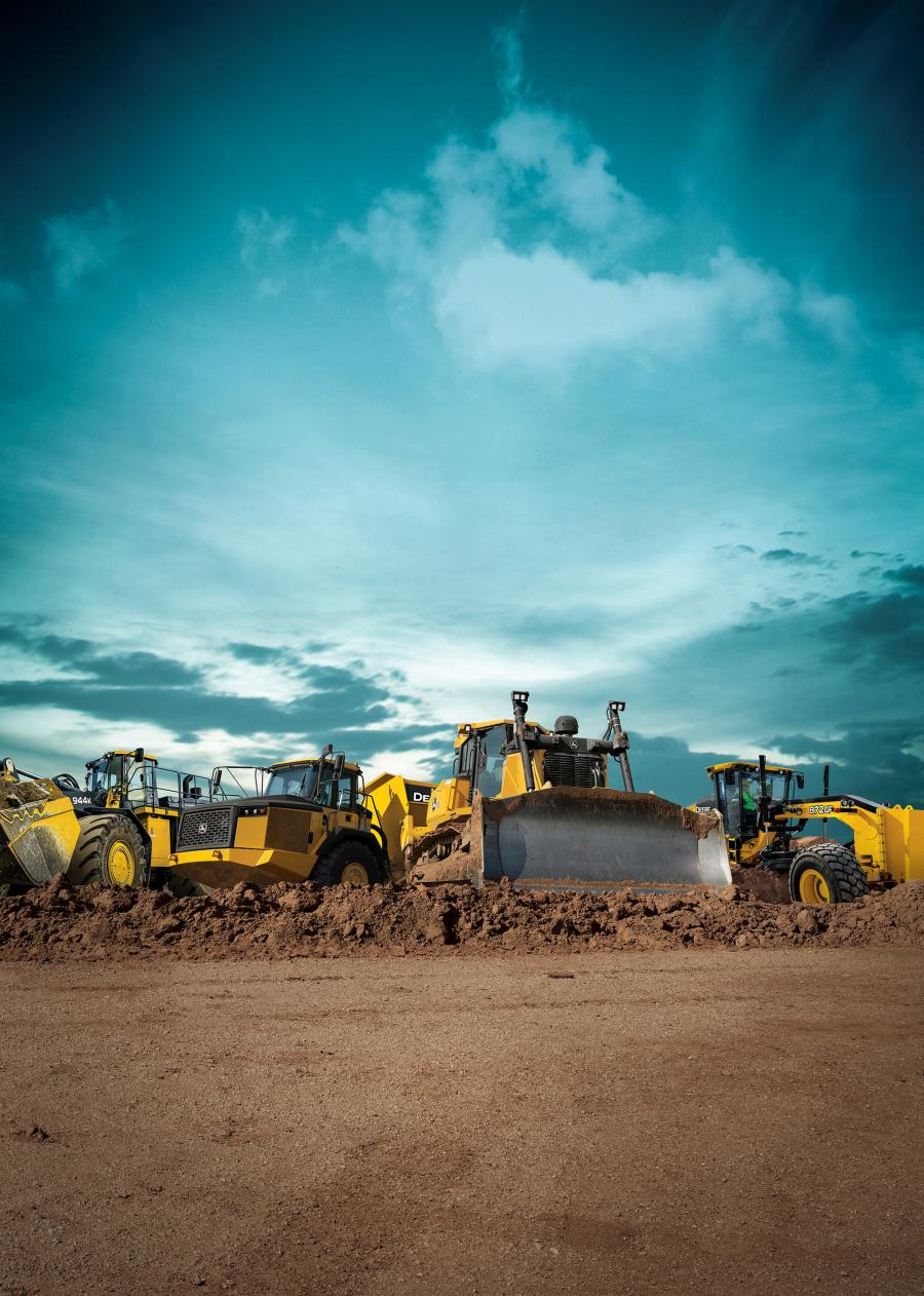A total of 14 John Deere machines will be on display for the first time at the Wirtgen Group booth.