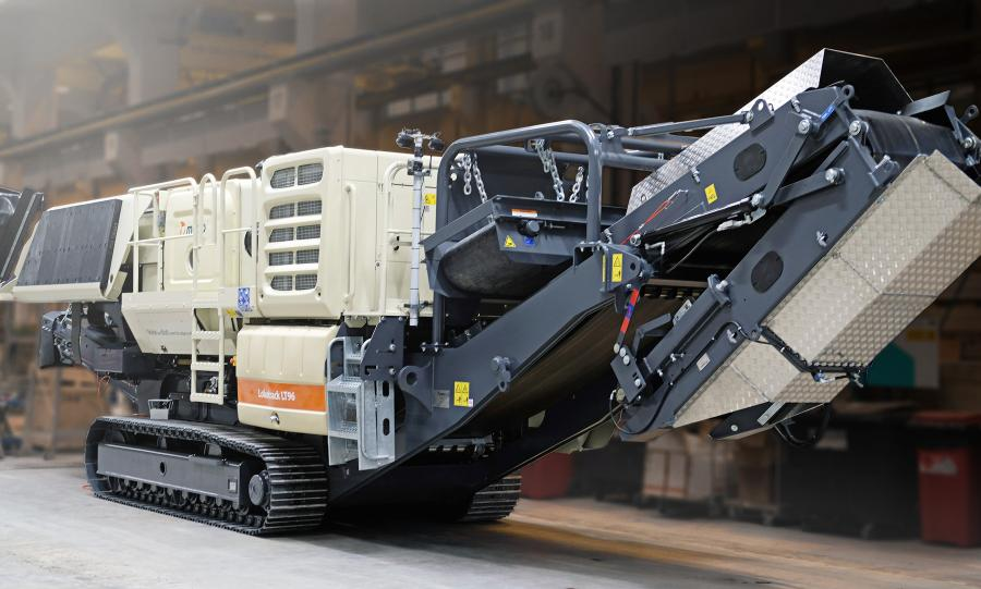 The latest addition to the community-friendly Lokotrack Urban series, the Urban LT96 is ideal for small to mid-sized contractors crushing and recycling demolished concrete on site.