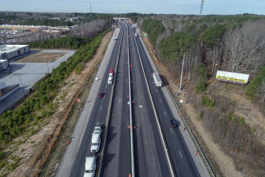 GDOT's $135M Widening of I-85 Presses Forward | Construction