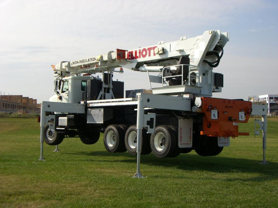 Elliott's E120 was designed from the ground up to solve transmission construction and maintenance challenges by reducing setup time, eliminating the OSHA test pick requirements, reducing equipment expenditures and optimizing job site performance, according to the manufacturer.