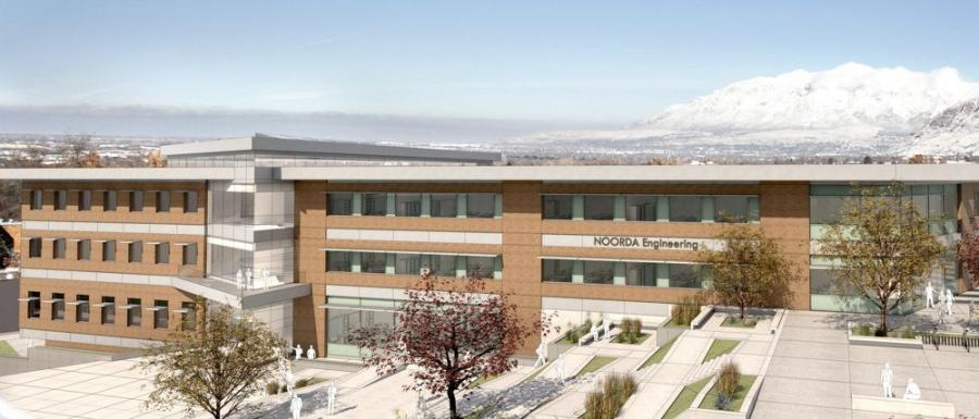 The Noorda Building for Engineering, Applied Science & Technology will help accommodate the rapid growth in computer science and technology programs at Weber State. It will replace the outdated Technical Education Building, built in 1957.