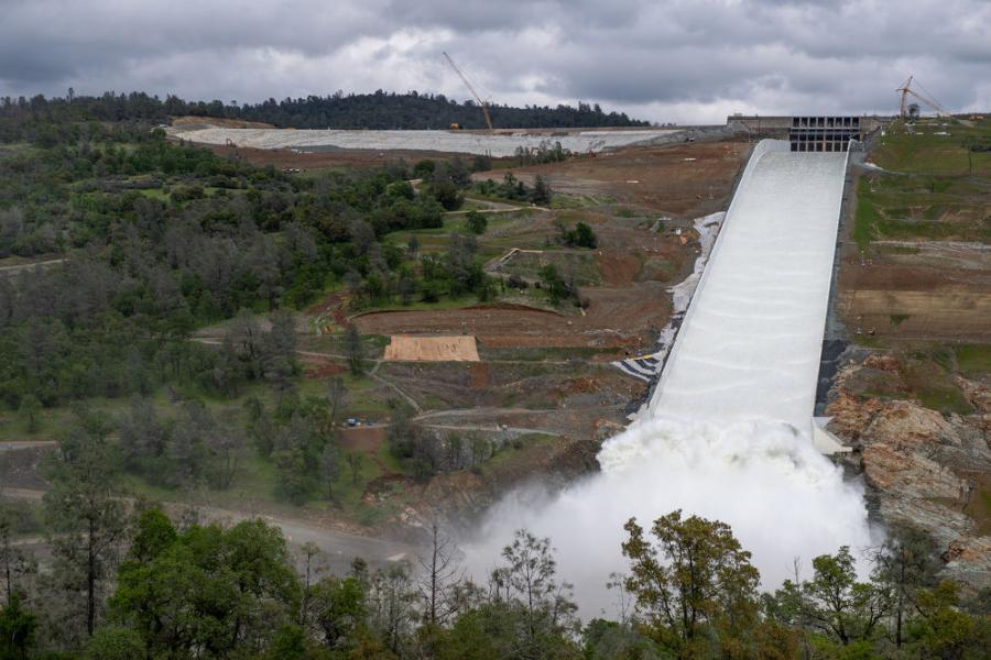 $1 1B Oroville Dam Spillway Repairs Put to Test