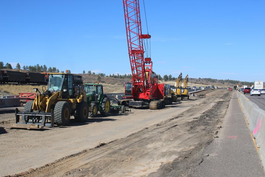 The project calls for widening shoulders outside and inside the travel lanes for safer vehicle pull-off and emergency response. This improvement also will help with drainage.