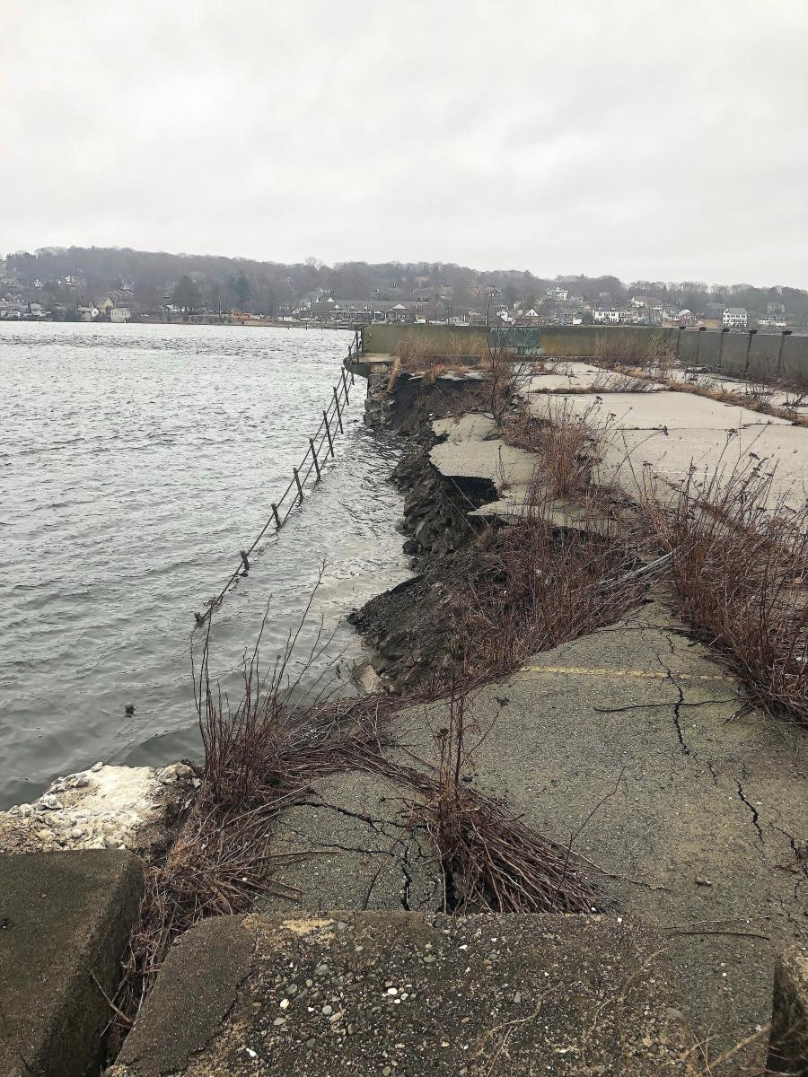The Rhode Island Department of Transportation (RIDOT) plans to start repairs on the Portsmouth side of the Old Stone Bridge causeway in late April.