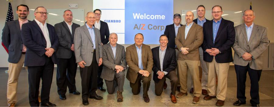 Cianbro announces its acquisition of A/Z Corporation, a Connecticut-based engineering-construction firm providing diverse industry services including design, construction, maintenance, and energy management, with a focus on technology-oriented markets.