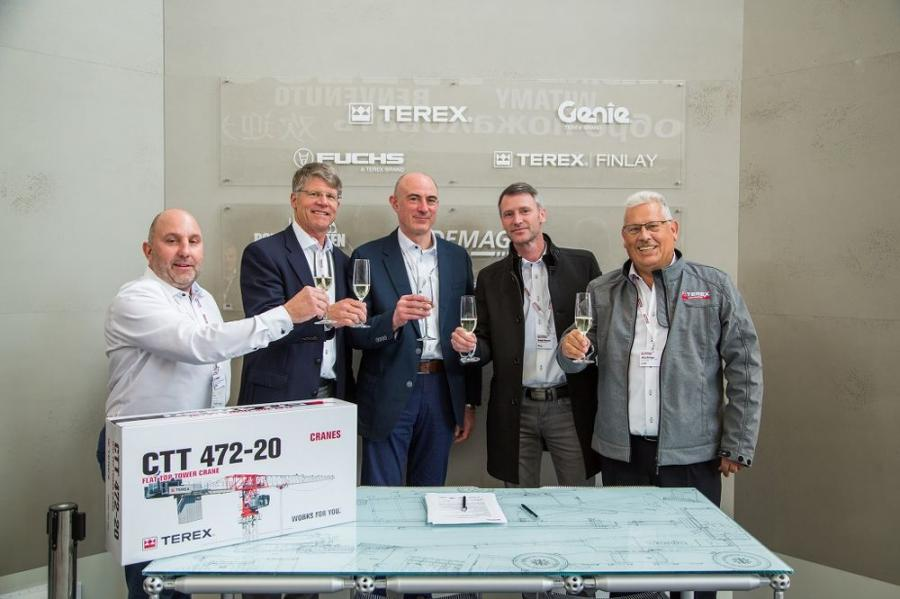 Terex Cranes Sales Start Strong at bauma 2019 | Construction