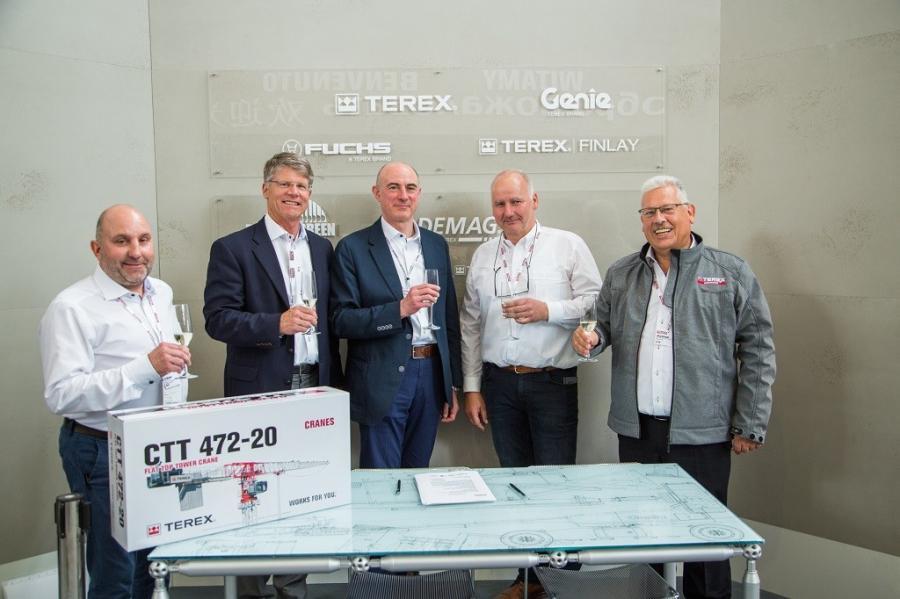 Terex Cranes Sales Start Strong at bauma 2019   Construction