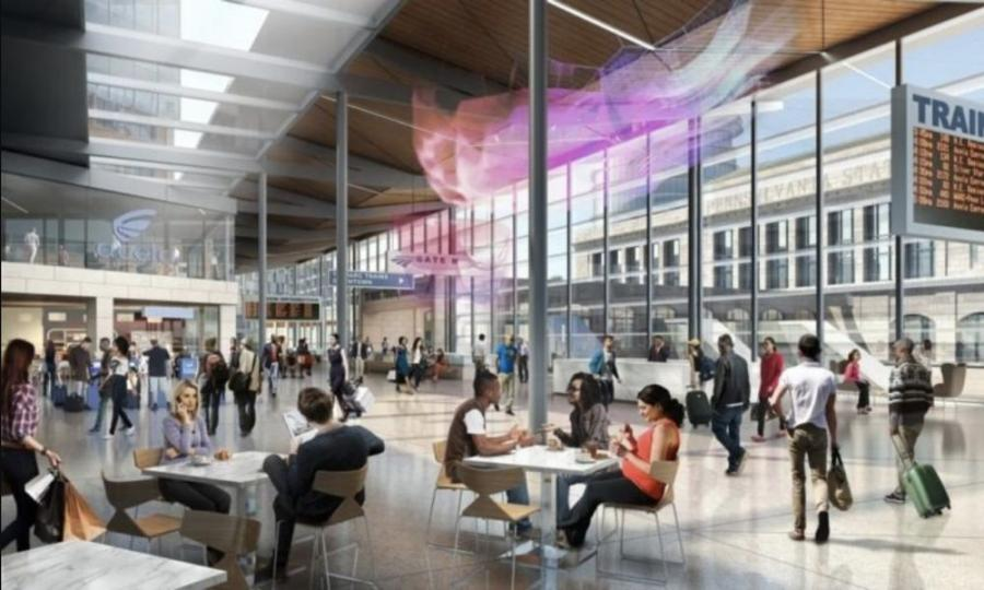 Amtrak plans to invest up to $90 million in improvements to the historic Baltimore Penn Station, including expansion and modernization to accommodate passenger growth and significantly improve the customer experience.