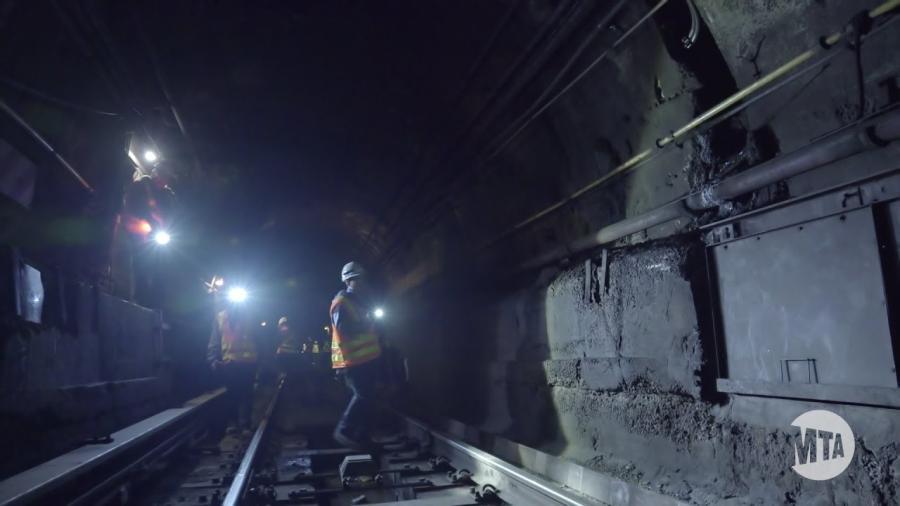 The Canarsie tunnel
