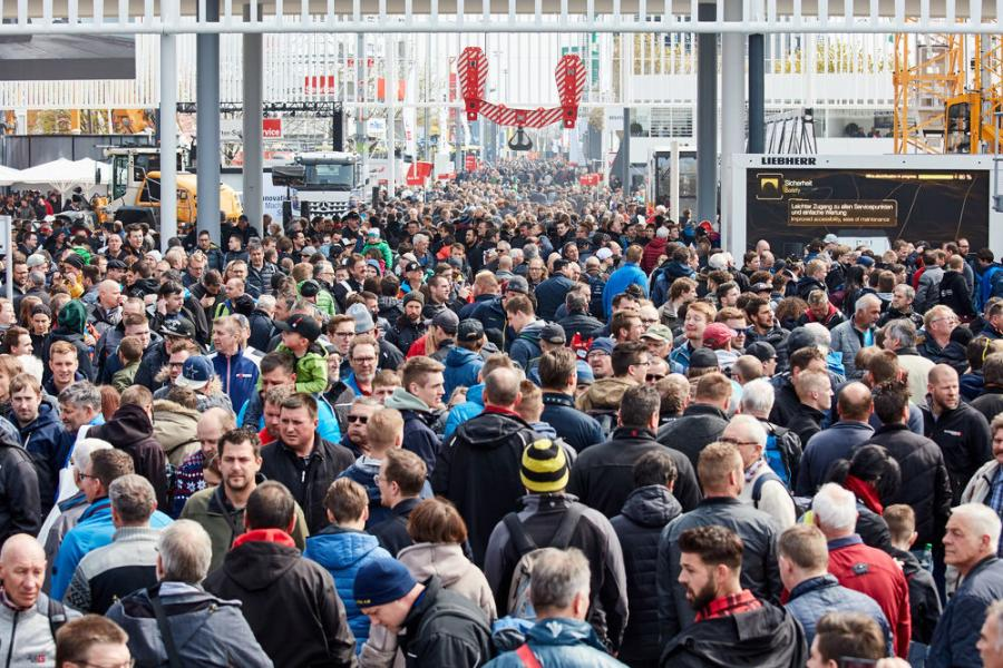 More than 620,000 visitors attended bauma 2019 — the most in the trade show's 65-year history.